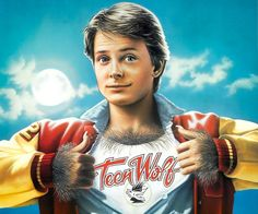 Hombre lobo adolescente, Michael J. Fox
