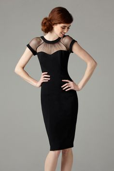 Another little black dress worth keeping in the closet for formal occasions