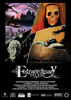 """EXTRAORDINARY TALES - It took more than a hundred years of filmmaking for someone to deliver what I consider to be the definitive works of Edgar Allan Poe on the big screen. """"Extraordinary Tales"""" is a truly unique experience, utilizing a slate of directors with wildly different animation styles to bring to life his most famous tales."""