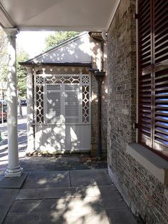 like the shutters with trellis