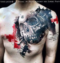 #polka #trash #tattoo
