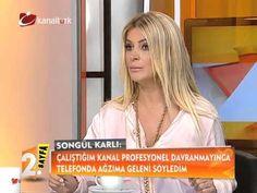 """2.Sayfa'nın konuğu Songül Karlı:""""Herkeste güzel kadın fobisi var."""""""