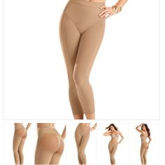 Smooth Legs & Enhanced Rear Leggings Shaper Slimmer legs in seconds! These leggings softly control your tummy to your ankles. Intelligent fabric with different levels of control help define and give you that perfect shape. Enjoy shaped and defined legs! •Leggings with super comfy control •Softly controls tummy, waist, thighs and legs •SkinFuse™ invisible look under clothing •Targeted control in different areas of the body •Strong compression band under rear to lift •Light fabric in rear to…