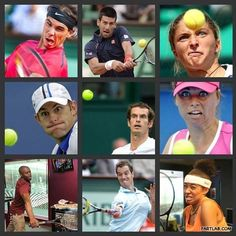 Few best looks of Tennis Players