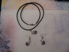 Wire and gemstones