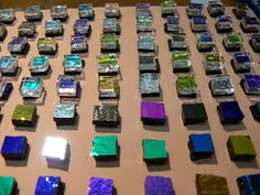 Steve Smith's Jewellery: My Do's and dont's on How to make very small Dichroic glass cabochons for Stud Earrings
