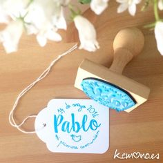 sellos primera comunion Baby Baptism, Christening, Baby Shower Parties, Baby Boy Shower, Ideas Para Fiestas, First Holy Communion, Envelopes, Holidays And Events, Girl Birthday