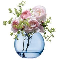 Rose Quartz And Serenity Fresh Flower Arrangement