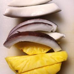 Succo di ananas e cocco