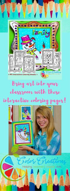 Bring art back into the classroom with these interactive coloring sheets. These printable pop art pages are sure to be a hit with the kids! Features include, basic math, spelling, grammar, create your own lesson, writing prompts and more! All products come with coloring pages for those early finishers too! Visit our store to see all of our products.