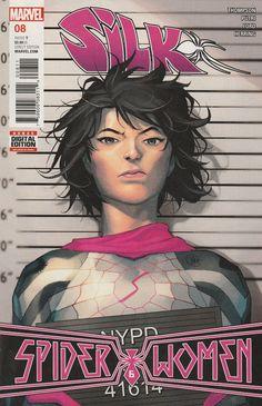 Silk # 8 Marvel Comics Vol. 2