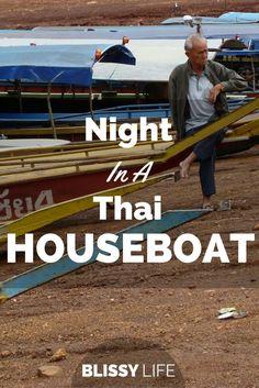 Birthday Surprise: Houseboat Style on Mae Ngat Dam, Chiang Mai! via /blissy_life/
