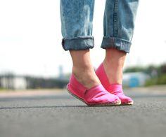Pink Espadrillas by Espadrij More on my Blog www.lovelysuitcase.de