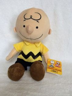 Kohl's Care Charlie Brown Peanuts' Plush Doll Toy Stuffed Lovey | eBay