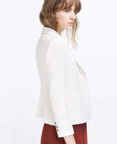 Image 4 of TAILORED JACKET from Zara