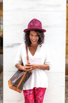 991e3a60a3c ELLE.com editor Danielle Prescod wears Pharrell s hats Pharrell Williams  Hat