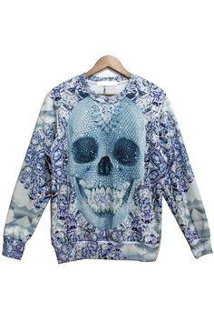 Happy Skull Sweater