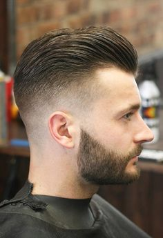 Check Out 25 Best Fade Haircuts For Men. Faded hairstyles can also be combined with beards or hair designs for stand out styles. Best Fade Haircuts, Popular Haircuts, Cool Haircuts, Haircuts For Men, Undercut Hairstyles, Cool Hairstyles, Quiff Haircut, Mens Wedding Hairstyles, Mens Fade Haircut