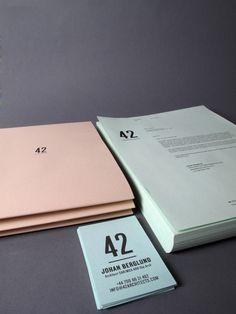 #design #branding #brand #identity #stationary #42 #johannabonnevier