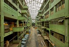 Ford Model T Assembly Plant left abandoned and empty. #Revolution