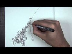 Drawing Curvy Lines (Doodle) - YouTube
