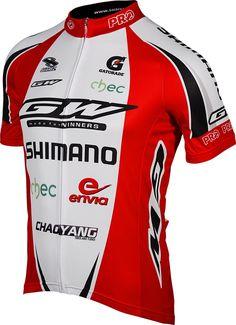 GW Shimano Team Mens Cycling Jersey