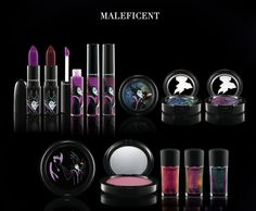 Maleficent makeup collection by MAC - 2010