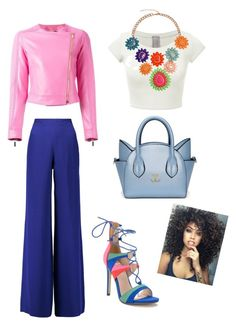 Spring Time by raysagomez on Polyvore featuring polyvore fashion style Versace Emilio Pucci clothing