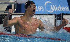 Mondiaux de natation : le Brésilien Cesar Cielo s'impose dans le 50 m nage libre, Florent Manaudou 5e