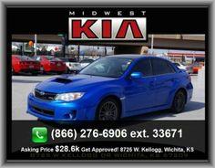 2013 Subaru Impreza WRX Premium Sedan  Tachometer, Metal-Look Dash Trim, Rear Hip Room: 53.3, Tires: Profile: 45, Fuel Consumption: Highway: 25 Mpg, Rear Stabilizer Bar: Regular, Fuel Consumption: City:
