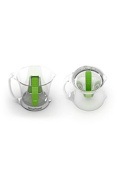 Brilliant measuring cup design.  Made by the company I am proud to work for Urban Trend. Www.urban-trend.com