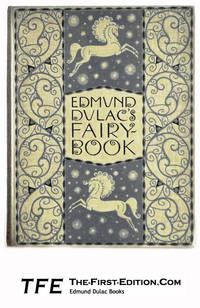 Edmund Dulac's Fairy-Book: Fairy Tales of the Allied Nations..  London: Hodder and Stoughton, 1916. Near Fine condition double page decorated endpapers in a geometric design,169 numbered pages, and 15 full colour plates.  Listed by The First Edition.  #fairytale #dulac