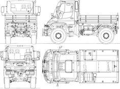 Plano Unimog U-500