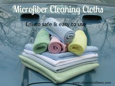 How To Use Microfiber Cleaning Cloths & Mops, Instructions
