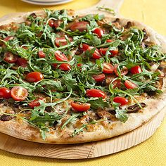 Learn how to make Arugula Salad Pizza. MyRecipes has 70,000+ tested recipes and videos to help you be a better cook