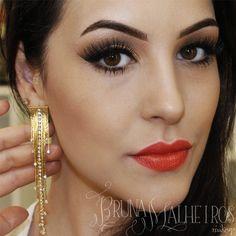 Sugestão maquiagem final de ano. http://www.brunamalheiros.com/maquiagem-facil-para-festas-de-fim-de-ano/