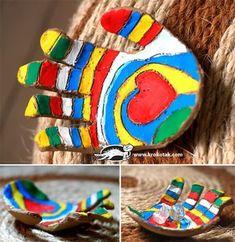 5 manualidades para niños con pasta de modelar