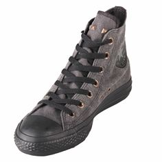 Chuck Taylor 139761C Heel Stud Hi Black Shoe @$74.99 ! Buy now at GetShoes.ca