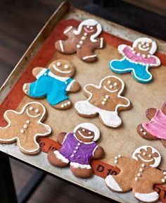 Gingerbread Cookies - decorating with precious Mamma