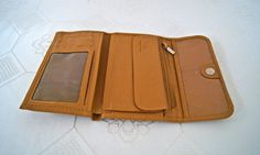 Mashad Leather Wallet...Soft Leather by InglenookMarket