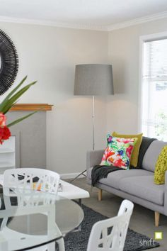 pops of colour - interior stylist Hobart #propertystyling #propertystylinghobart