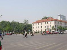 农业路与文化路交叉口 Nongye Road at Wenhua Road crossroad
