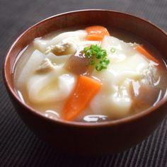 だんご汁(えんげ食・介護食) by ニュートリーのオフィシャルキッチン - おいしい健康: 毎日のおいしい食事・健康管理 - シニア