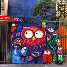 Street art Saopaulo Graffiti