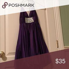 Homecoming/prom dress Crystal detail and bubble hem Jessica McClintock Dresses Prom