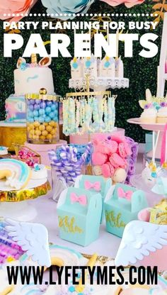 Plan Your Party in Seconds with Your All-In-One Free Party Planner Diy Unicorn Birthday Party, Frozen Birthday Party, Birthday Party Favors, Birthday Party Decorations, Boy Birthday, Birthday Ideas, Baby Shower Niño, Bridal Shower, Planner Free