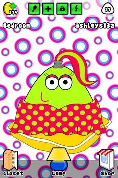 My amazingly awesome pou! Pou app