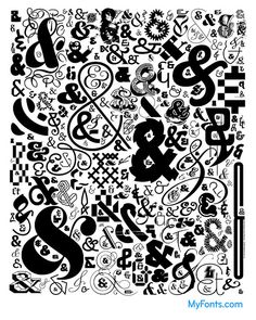 Nick Sherman's terrific ampersand poster; this art is also used throughout our Creative Characters book: http://www.amazon.com/Creative-Characters-Interviews-Font-Designers/dp/9063692242/ref=sr_1_1?ie=UTF8&qid=1328896064&sr=8-1