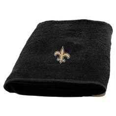 NFL Applique Bath Towel - New Orleans Saints