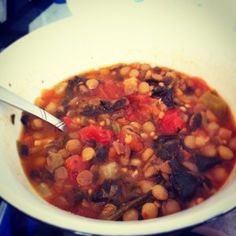 Cooking with Lentils: Spinach Lentil Soup Recipe